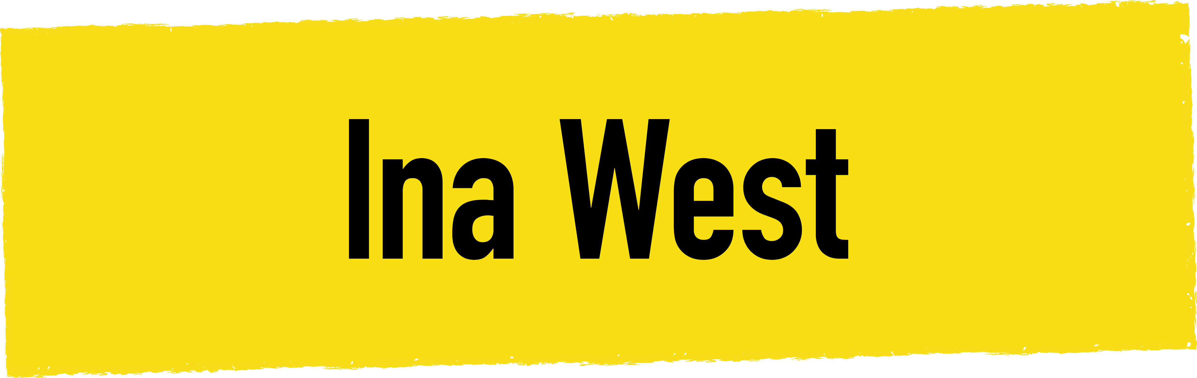 INA WEST